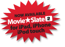 Coming soon: MovieSlate HD for iPad